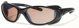 Liberty Sport Chopper Sunglasses Sunglasses - Shiny Black / Matte Black w/ Ultimate Driver Lens #203
