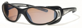 Liberty Sport Chopper Sunglasses Sunglasses - Matte Black / Shiny Silver w/ Ultimate Driver Lens #205