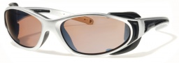 Liberty Sport Chopper Sunglasses Sunglasses - Shiny Chrome / Satin Black w/ Ultimate Driver Lens #401