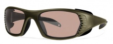 Liberty Sport Free Spirit XL Sunglasses Sunglasses - Army Green w/ Ultimate Driver Lens #550