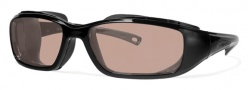 Liberty Sport Rider Dry Eye Sunglasses Sunglasses - Shiny Black w/ Ultimate Driver Lens #203