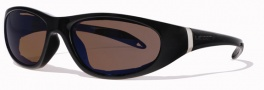 Liberty Sport Escapade II Sunglasses Sunglasses - Shiny Black w/ Ultimate H2O Lens #203