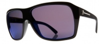 Electric Capt. Ahab Sunglasses Sunglasses - Gloss Black / Melanin Blue Polarized
