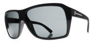 Electric Capt. Ahab Sunglasses Sunglasses - Gloss Black / Melanin Silver Polarized