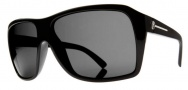 Electric Capt. Ahab Sunglasses Sunglasses - Gloss Black / Melanin Grey