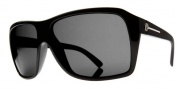 Electric Capt. Ahab Sunglasses Sunglasses - Gloss Black / Melanin Grey Polarized