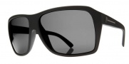 Electric Capt. Ahab Sunglasses Sunglasses - Matte Black / Melanin Grey