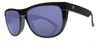 Electric Flip Side Sunglasses Sunglasses - Gloss Black / Melanin Blue Polarized