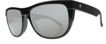 Electric Flip Side Sunglasses Sunglasses - Gloss Black / Melanin Silver Polarized