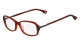 Michael Kors MK272 Eyeglasses Eyeglasses - 624 Cinnabar (Red)