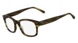 Michael Kors MK273M Eyeglasses Eyeglasses - 310 Olive Horn
