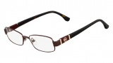 Michael Kors MK338 Eyeglasses Eyeglasses - 210 Brown