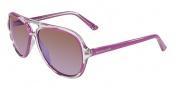 Michael Kors M2811S Caicos Sunglasses Sunglasses - 620 Fushia (Pink)
