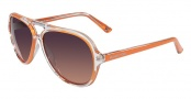 Michael Kors M2811S Caicos Sunglasses Sunglasses - 810 Orange
