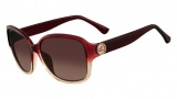 Michael Kors M2842S Sophia Sunglasses Sunglasses - 623 Burgundy / Taupe Gradient