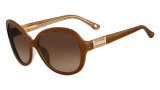 Michael Kors MKS299 Jennah Sunglasses Sunglasses - 222 Cardamon (Light Brown)