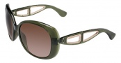 Michael Kors MKS664 Sanibel Sunglasses Sunglasses - 302 Duffle (Green)