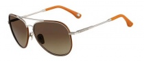 Michael Kors MKS167 Brooke Sunglasses Sunglasses - 045 Silver