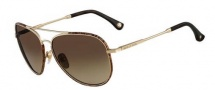 Michael Kors MKS167 Brooke Sunglasses Sunglasses - 717 Gold