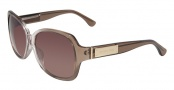 Michael Kors M2796S Bella Sunglasses Sunglasses - 214 Brown / Pink Gradient
