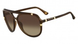 Michael Kors M2836S Sunglasses Sunglasses - 210 Brown
