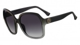 Michael Kors M2841S Ellie Sunglasses Sunglasses - 046 Black / Smoke Gradient