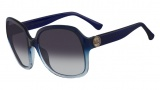 Michael Kors M2841S Ellie Sunglasses Sunglasses - 463 Navy / Smoke Gradient