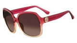 Michael Kors M2841S Ellie Sunglasses Sunglasses - 658 Berry / Nude Gradient