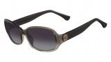 Michael Kors M2844S Eve Sunglasses Sunglasses - 026 Smoke / Taupe Gradient