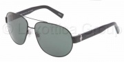 Dolce & Gabbana DG2117 Sunglasses Sunglasses - 01/9A Black Polar Green