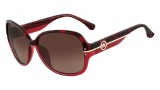 Michael Kors M2857S Mackenzie Sunglasses Sunglasses - 618 Burgundy