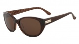 Michael Kors M2861SRX Ruby Sunglasses Sunglasses - 252 Crystal Dark Brown