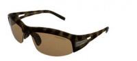 Swich Vision Cortina Uplift Sunglasses Sunglasses - Dark Tortoise / Polarized CA Reflection Bronze Lens