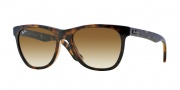 Ray-Ban RB4184 Sunglasses Sunglasses - 710/51 Light Havana / Crystal Brown Gradient