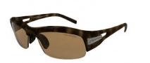 Switch Vision Cortina Full Stop Sunglasses Sunglasses - Dark Tortoise / Pollarized CA Reflection Bronze Lens