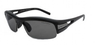 Switch Vision Cortina Full Stop Sunglasses Sunglasses - Matte Black / Polarized TC Grey Reflection Silver Lens