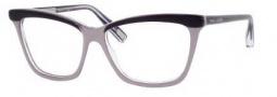 Marc Jacobs 414 Eyeglasses Eyeglasses - 0HGW Black Pearl Gray