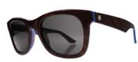 Electric Detroit XL Sunglasses Sunglasses - Napali Burgundy / Grey