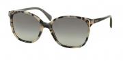 Prada PR 01OS Sunglasses Sunglasses - KAD3M1 White Havana / Grey Gradient