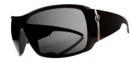 Electric Big Beat Sunglasses Sunglasses - Gloss Black / Melanin Grey