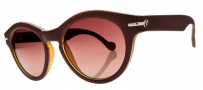 Electric Potion Sunglasses Sunglasses - Macchiato / Brown Gradient