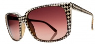 Electric Venice Sunglasses Sunglasses - Houndstooth / Brown Gradient
