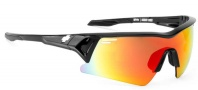 Spy Optic Screw Over Sunglasses Sunglasses - Black / Bronze w/ Red Spectra