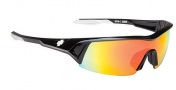 Spy Optic Screw Under Sunglasses Sunglasses - Black / Bronze w/ Red Spectra