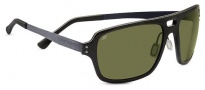 Serengeti Nunzio Sunglasses Sunglasses - 7907 Shiny Black Carbon Fiber / Polarized Phd 555nm