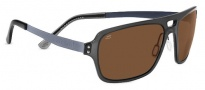 Serengeti Nunzio Sunglasses Sunglasses - 7906 Crystal Dark Charcoal Polarized PhD Drivers