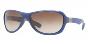Ray-Ban RB4189 Sunglasses Sunglasses - 600513 Shiny Blue / Brown Gradient