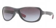 Ray-Ban RB4189 Sunglasses Sunglasses - 60068G Shiny Gray / Gray Gradient