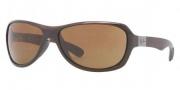 Ray-Ban RB4189 Sunglasses Sunglasses - 714/73 Shiny Brown / Brown