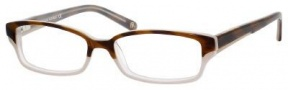 Banana Republic Allegra Eyeglasses Eyeglasses - 0JHB Brown Horn Gray